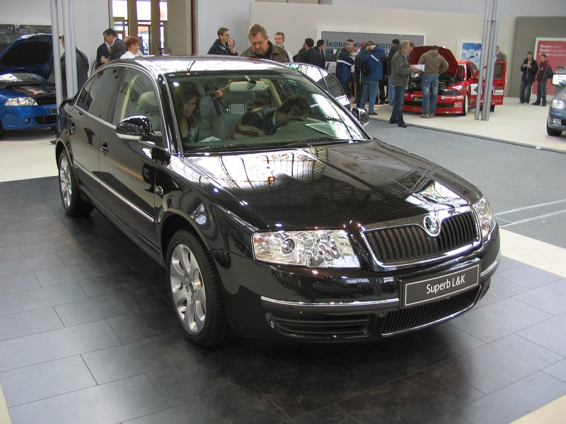 Škoda Superb 2.0 TDI Laurin&Klement