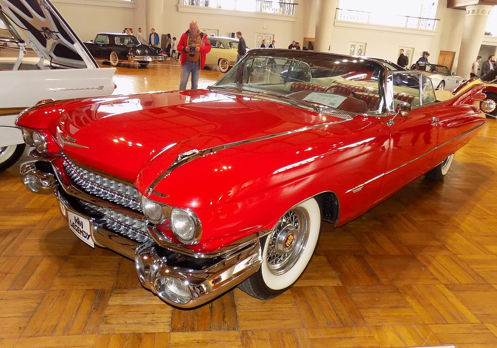 Cadillac Series 62 Convertible Europe