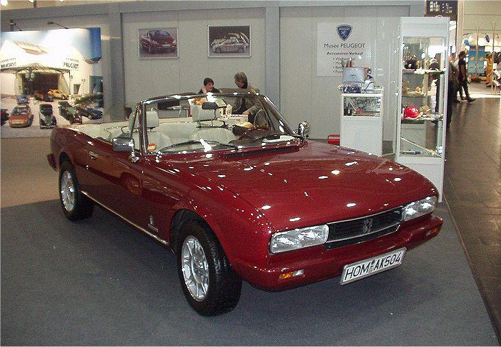 Peugeot 504 Ti Cabriolet 1980 Auta5p Id 11592 En