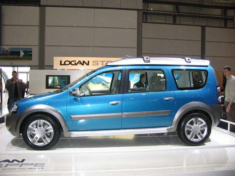 Dacia Logan Steppe Concept 2006 Auta5p Id3569 En