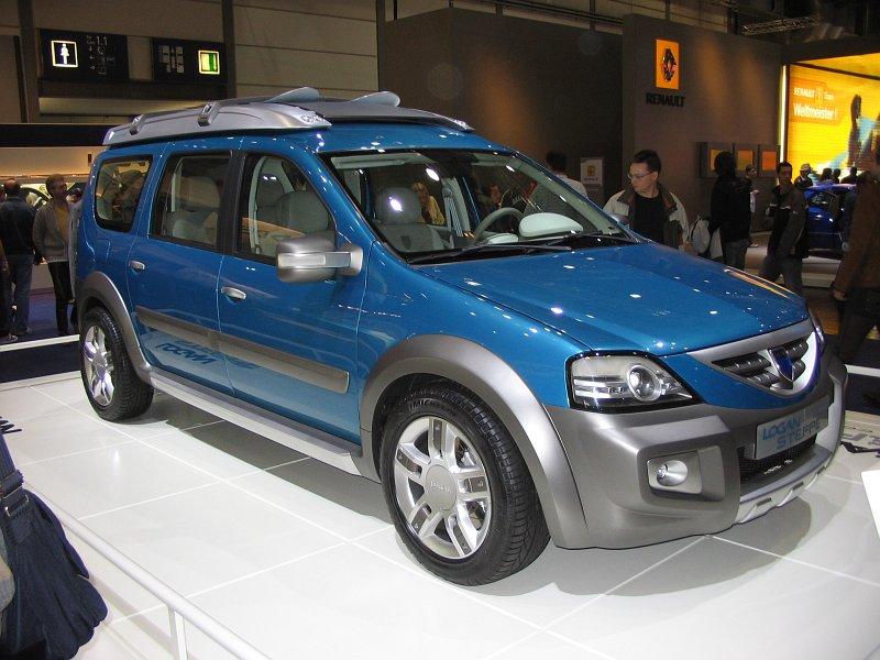 2009 Dacia Logan Steppe Concept Car Pictures
