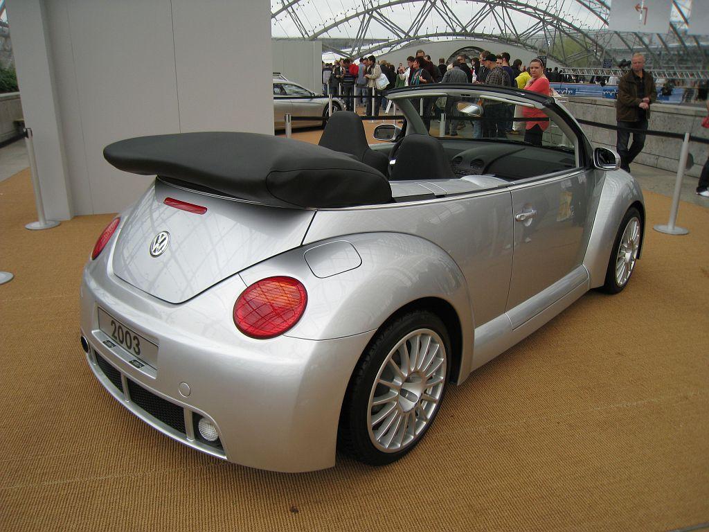 Volkswagen New Beetle RSI Cabriolet, 2003 [Auta5P ID:16736 EN]