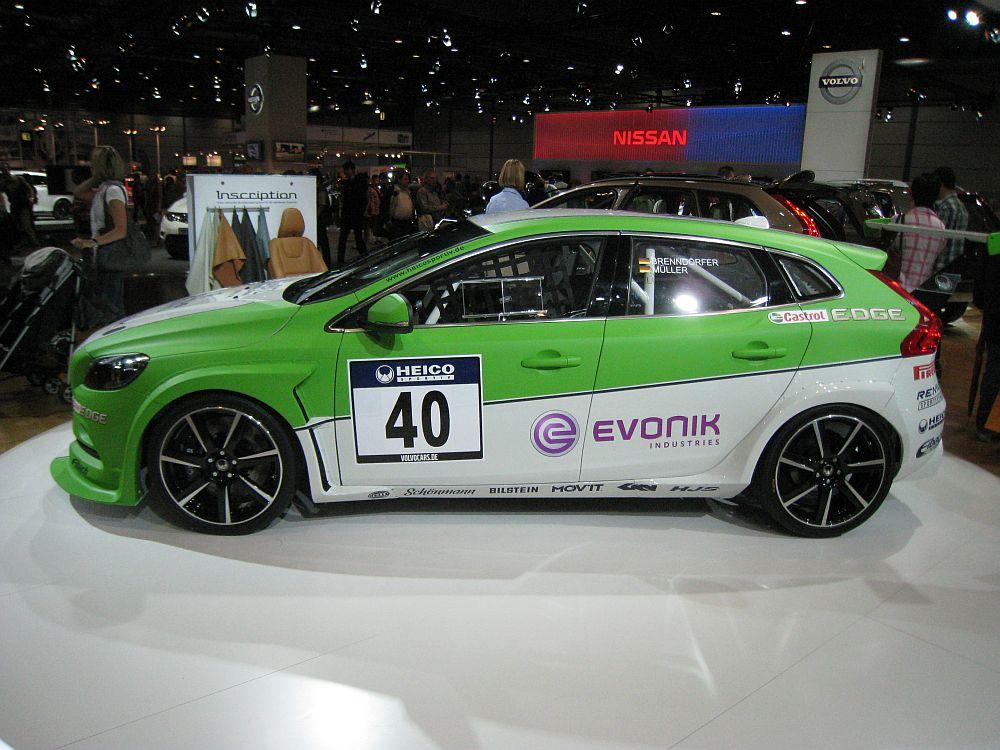 Heico Volvo V40 D5 Heico Race Car, 2012 [Auta5P ID:18588 EN]