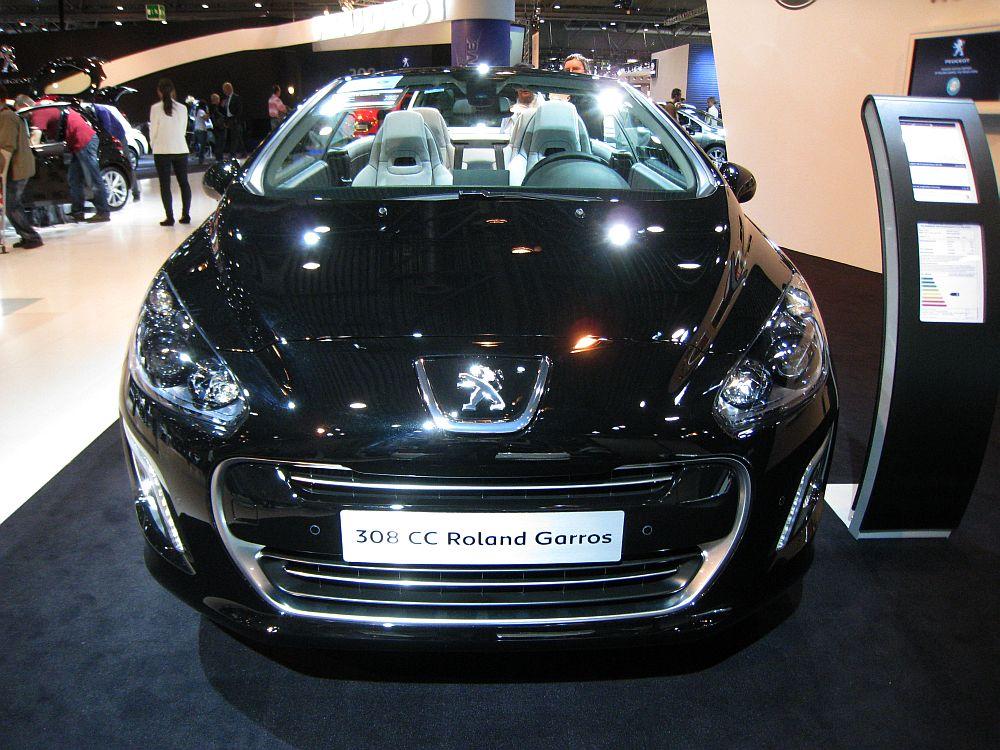 peugeot 308 cc roland garros 155 thp 2012 auta5p id 18603 en. Black Bedroom Furniture Sets. Home Design Ideas