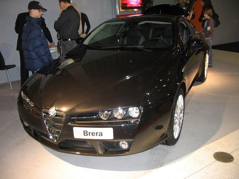Alfa Romeo Brera 2.2 JTS , Itálie 2005 (2005-2008)