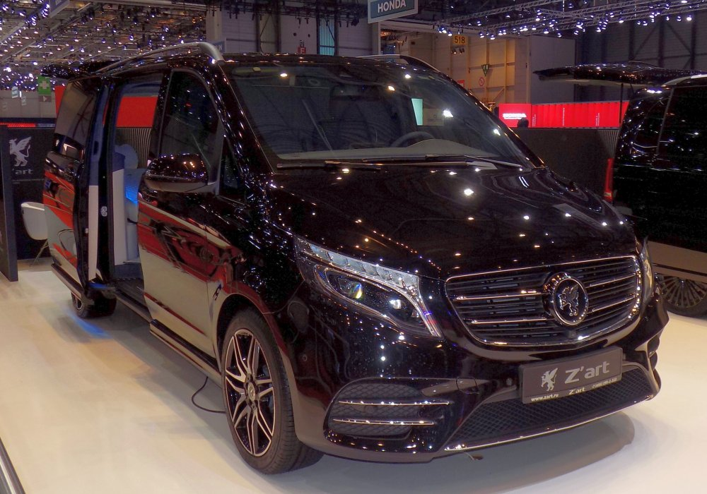 Z'art 68 Radiance Mercedes-Benz V 250 BlueTec